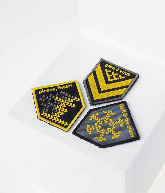 Dorsa Limitis 27 including Set #1 of patches